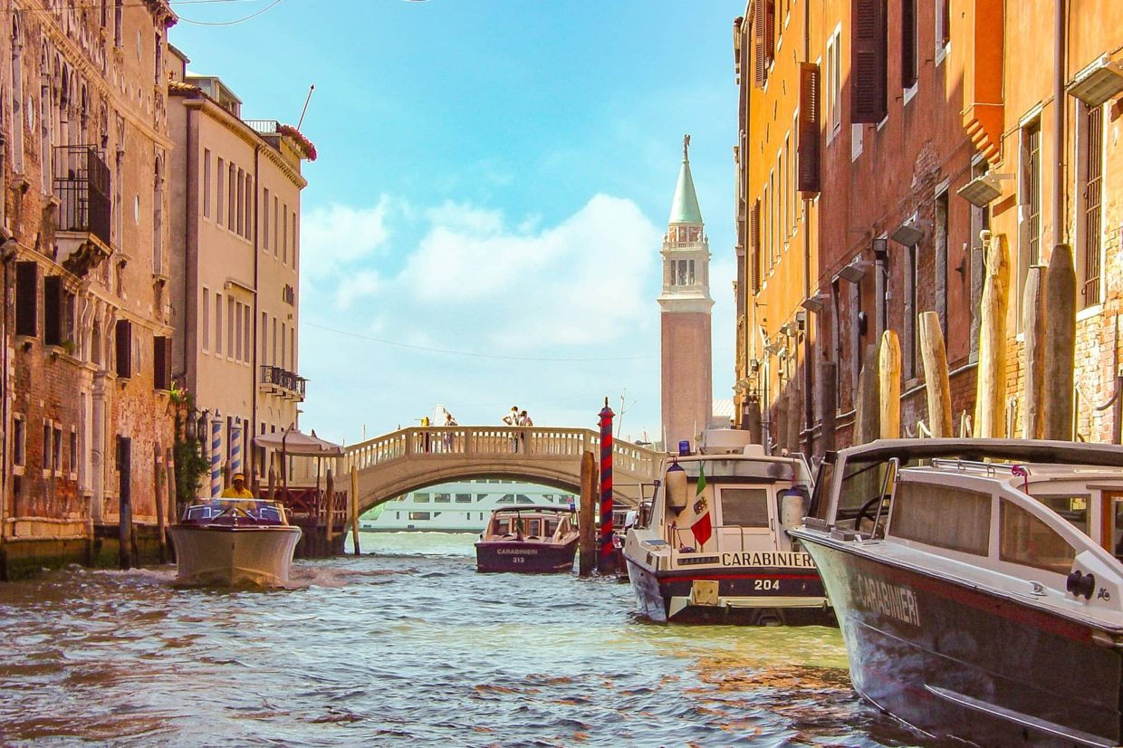 Venice sustainable travelling