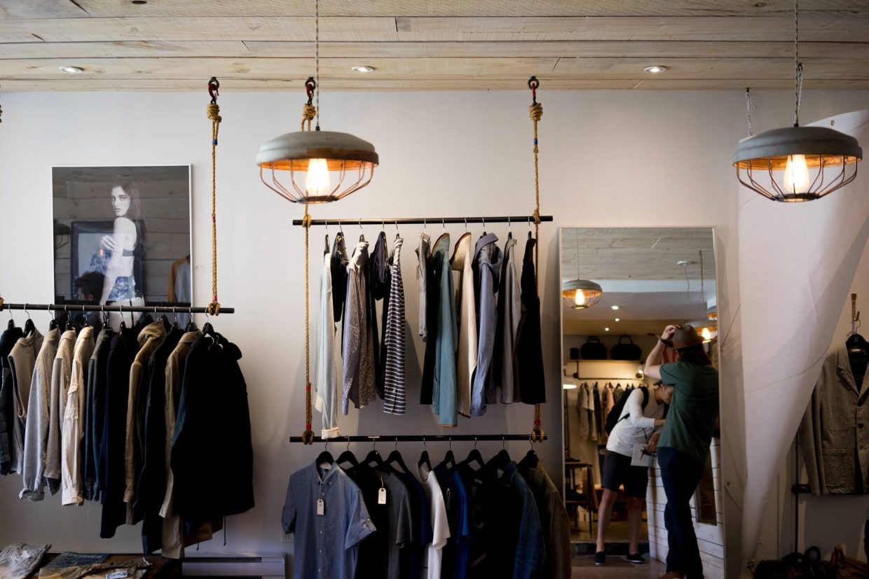 Fashionable Shops in Milan