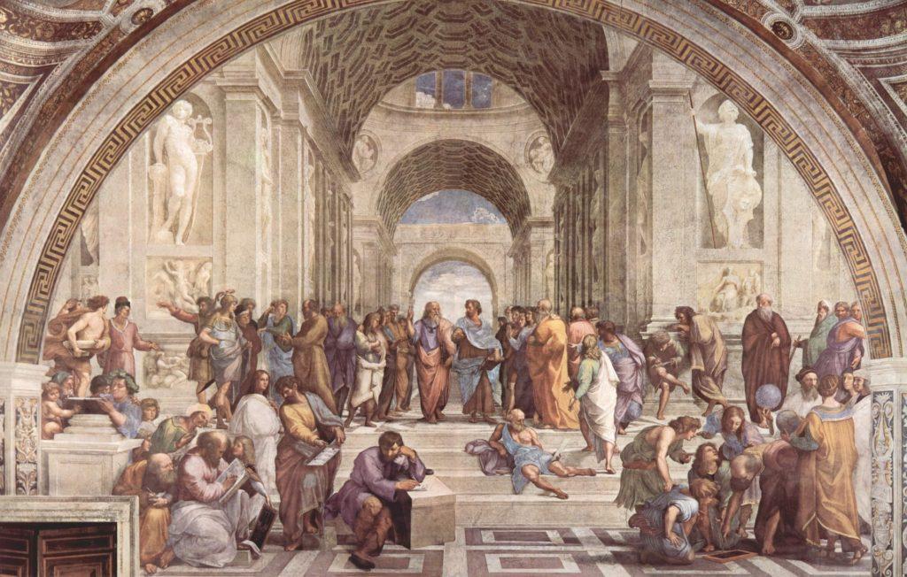 the eternal city art school of athens