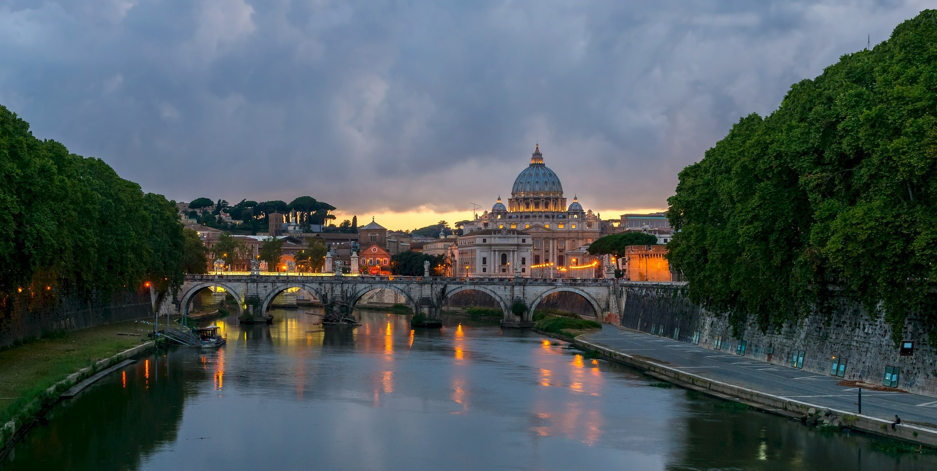 Rome called the eternal city
