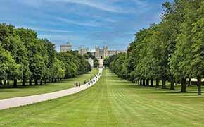 The entrance to Windsor Castle.