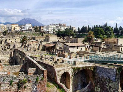 Visit the preserved ruins of Pompeii and the Herculaneum with your private guide.
