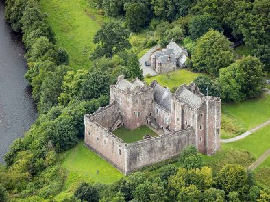 visit doune castle with your private guide - castle leoch in the outlander show.
