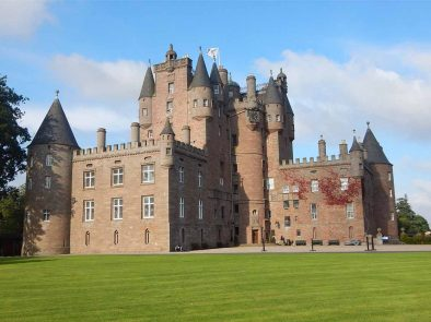 voted scotlands most beautiful, visit glamis castle on your tour.