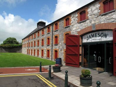 the famous Midleton whiskey distillery where jameson irish whiskey is made.
