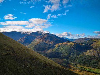 ben nevis the highest peak in the UK.