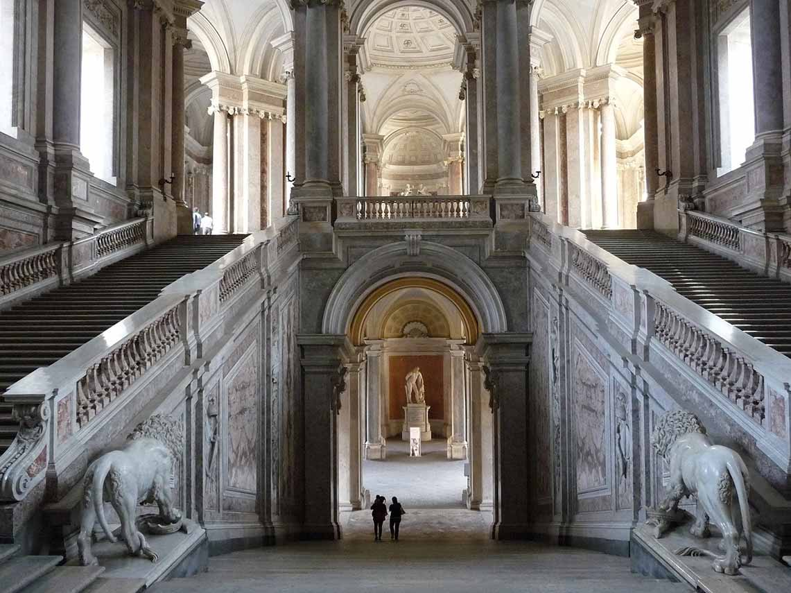 Renaissance architecture of the Royal Palace of Caserta
