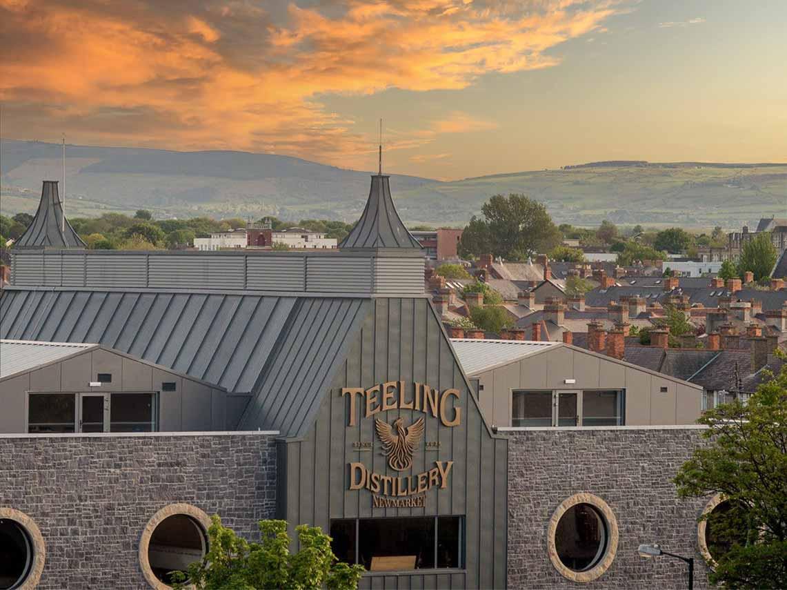 Teeling Distillery, Ireland whiskey tours.